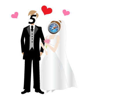 HTML5 Safari Wedding Picture