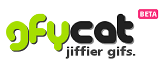 Gfycat logo design - A gif and HTML5 video hosting service.