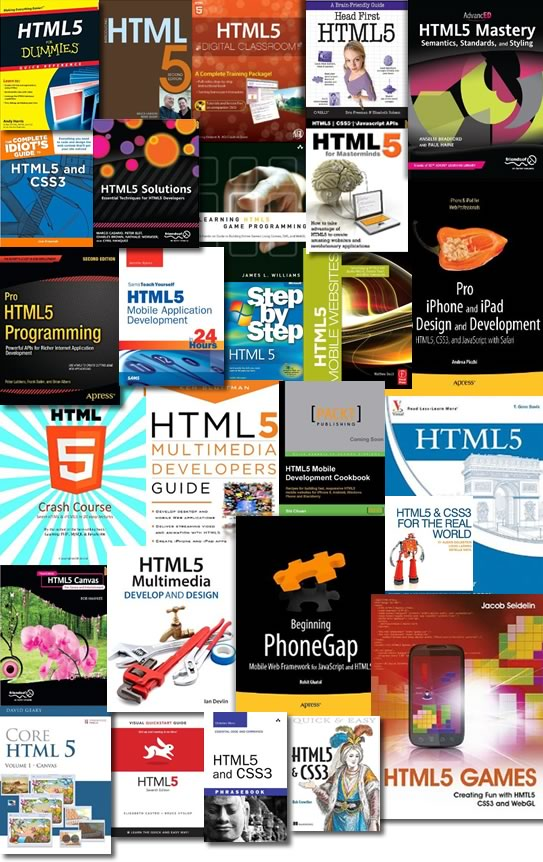 HTML5 Books from 2010 and 2011