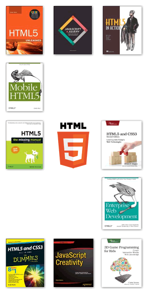 HTML5 Books for 2013 and 2014
