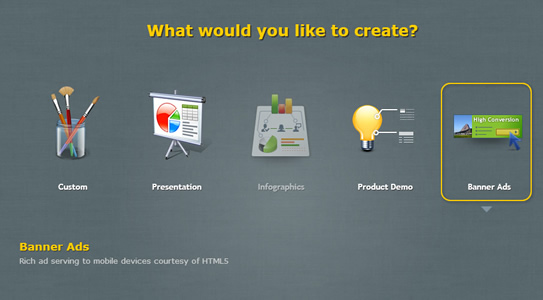 What kind of HTML5 interactive content would you like to create?