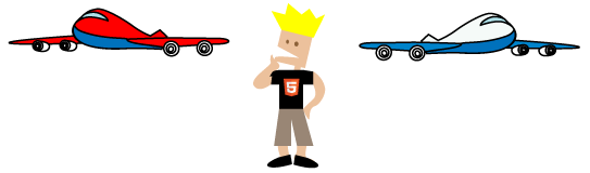 HTML5 Travel Graphic